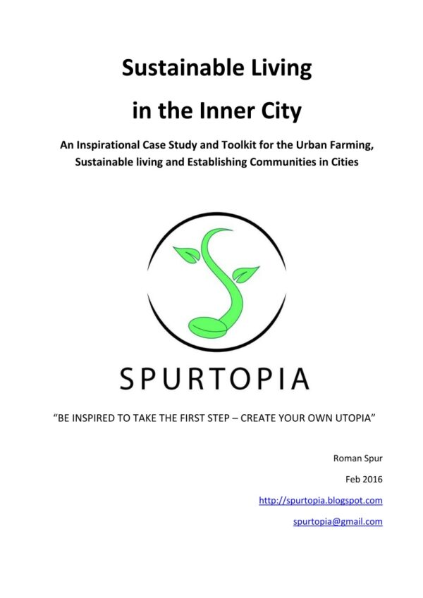 Free Publication: Sustainable living in the inner city - An inspirational case study and Toolkit